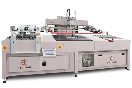 平板玻璃自動網印機(游樑式) / 東遠精技工業股份有限公司