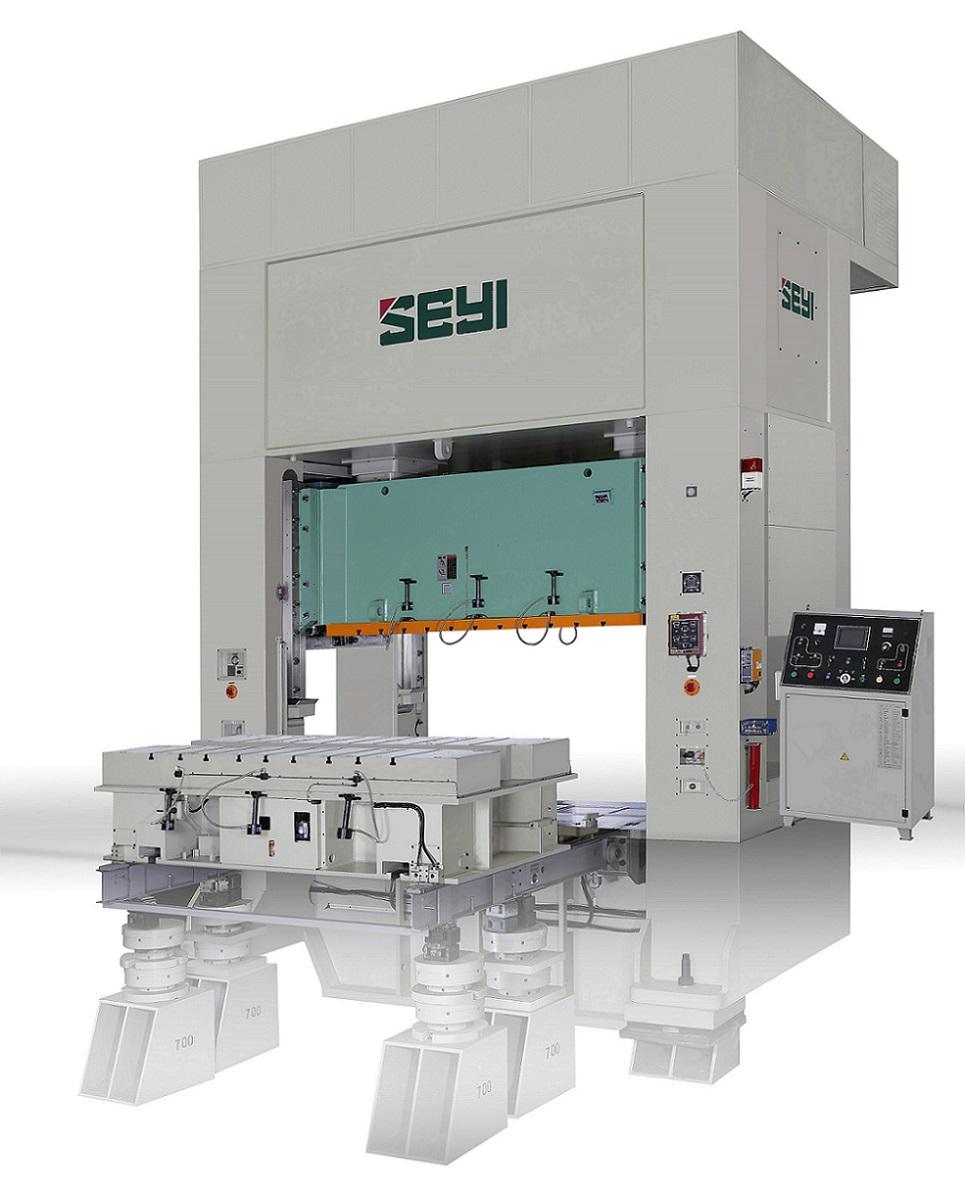 直壁式曲軸機械沖床(連桿式) / 協易機械工業股份有限公司
