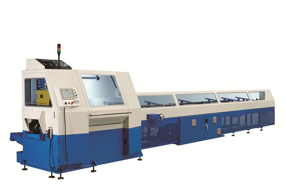 超高速雙管材金屬圓鋸機 / 和和機械股份有限公司