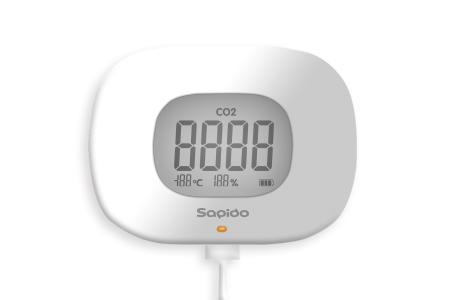 二氧化碳/溫濕度三合一空氣品質感測器 / 金智洋科技股份有限公司