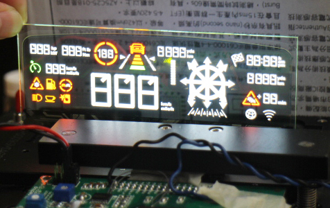 """4.9""""Area Color TOLED /  WiseChip Semiconductor Inc."""