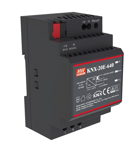 KNX Standard Power Supply for Home and Building Control / MEAN WELL ENTERPRISES CO., LTD.