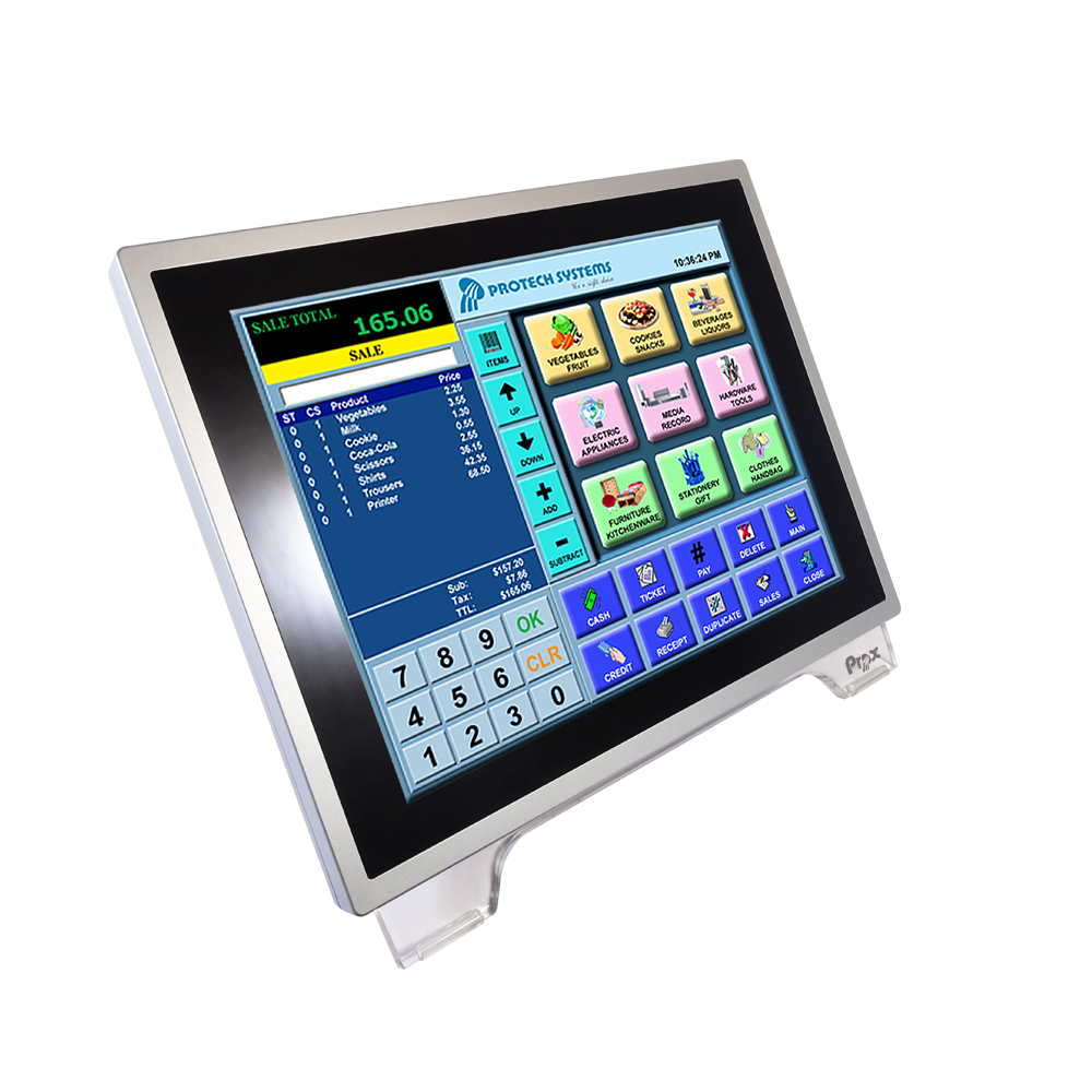 15 inch all-in-one touch panel POS terminal