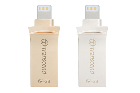 Flash Drive for iPhone, iPad and iPod / Transcend Information, Inc.