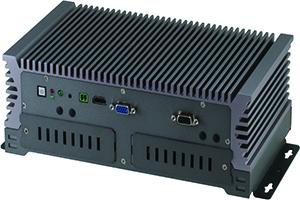 強固型嵌入式無風扇車載控制系統 / 研揚科技股份有限公司