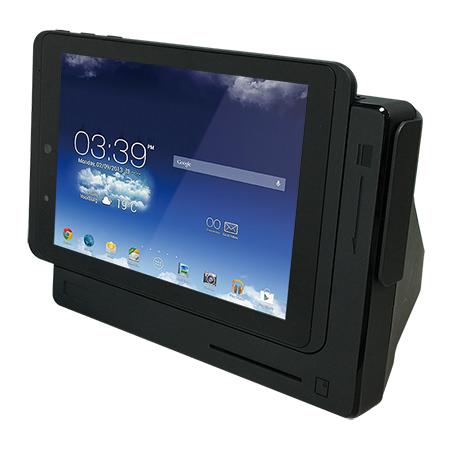 8吋手持桌機組合式POS系統 / 磐儀科技股份有限公司