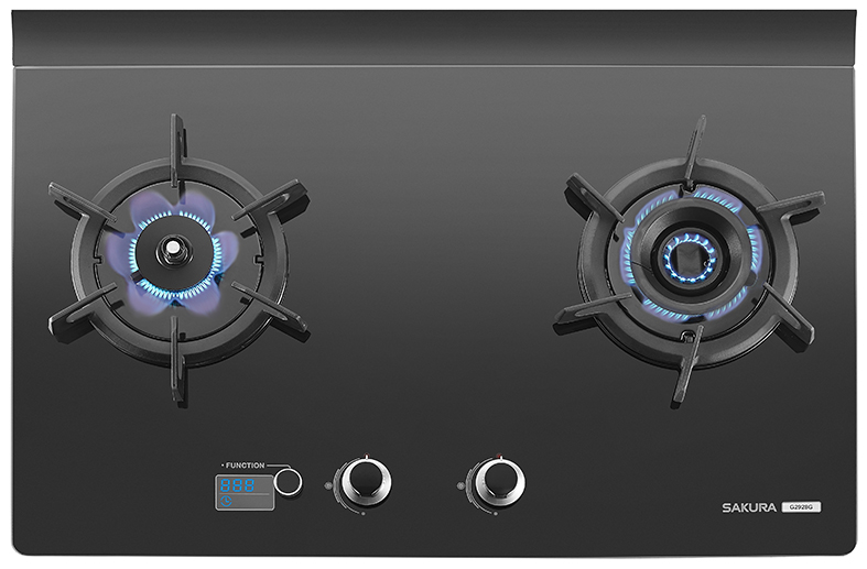 3D Built-in Hob with Double Vertex Flames  / TAIWAN SAKURA CORPORATION