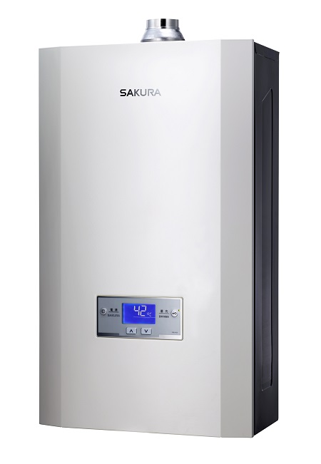 渦輪增壓智能恆溫熱水器 / 台灣櫻花股份有限公司