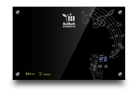 綠瓦數位變頻恆溫藍芽喇叭電熱水器 / 麗源光電股份有限公司