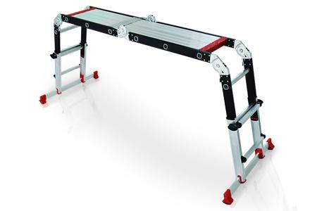 多功能可調式平台鋁梯 / 多惠企業有限公司