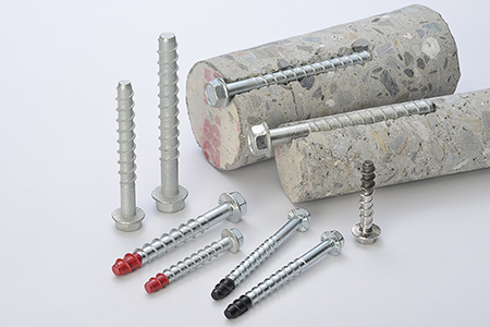 Concrete screw anchor / SHEH KAI PRECISION CO., LTD.