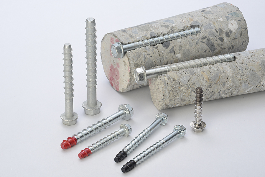 Concrete screw anchor