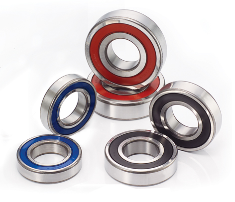Hybrid bearings for bicycle hub