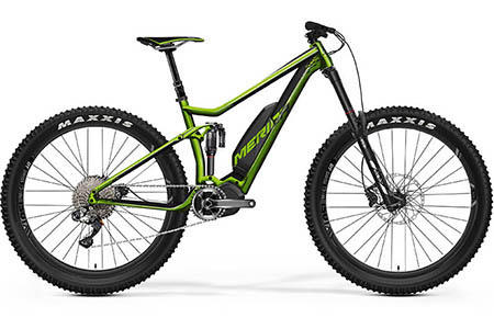 Electric-Full suspension X-Country bike