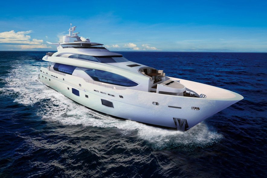 120 feet luxury motor yacht / Horizon Yacht Co., Ltd.