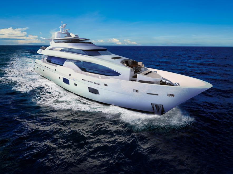 120呎巨型豪華遊艇
