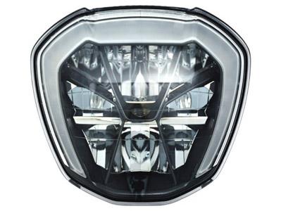 全LED巡航車款重型機車頭燈 / 堤維西交通工業股份有限公司