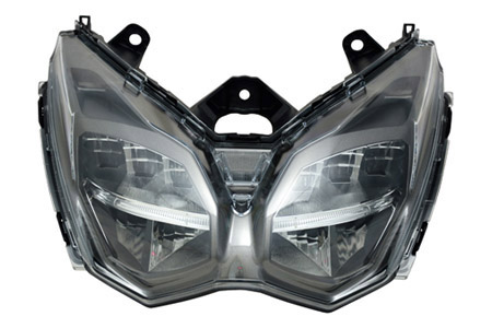 全LED鷹眼式機車頭燈 / 堤維西交通工業股份有限公司