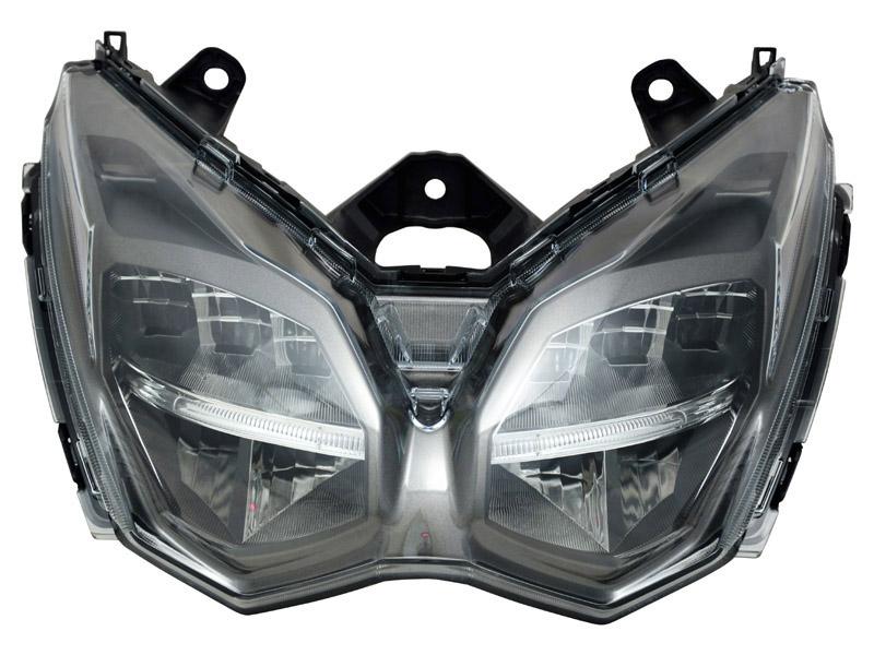 鷹の目式LEDスクーター用ヘッドライト