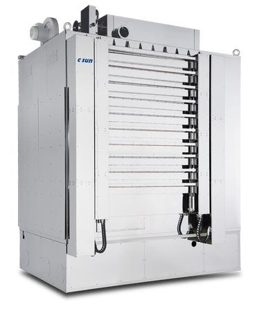 顯示面板用高效節能熱風多層爐 / 志聖工業股份有限公司