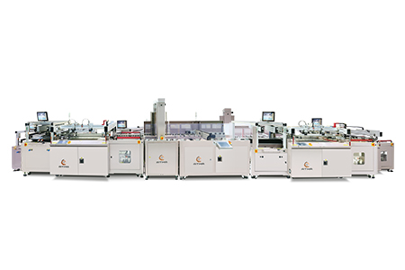 Fully Automatic Legend Screen Printing Line