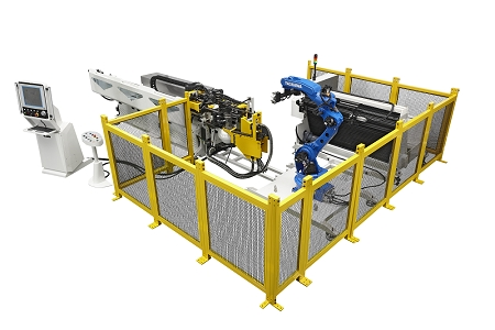 All Electric Tube Bending Machine Automation Cell