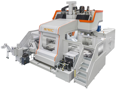 Heavy duty 5-axis machining center
