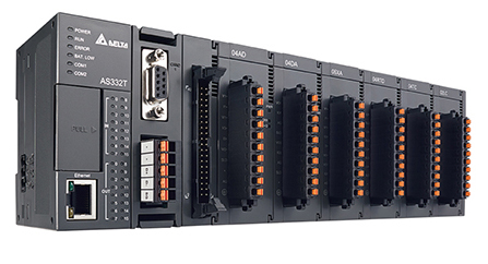 Compact Non-backplane Mid-range PLC AS Series / DELTA ELECTRONICS, INC.