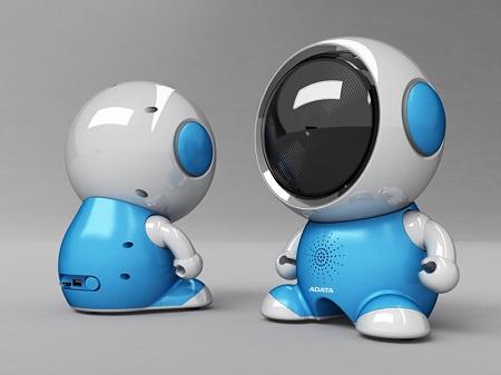 幼兒陪伴機器人 萌咘咘 / 威剛科技股份有限公司