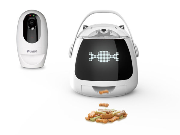 Wireless Interactive Pet Camera/ Pet feeder