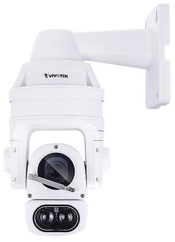 H.265紅外光可變角度長距離快速球攝影機(配備雨刷) / 晶睿通訊股份有限公司