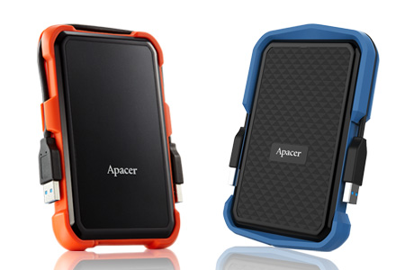 Military-Grade Shockproof Portable Hard Drive / Apacer Technology Inc.