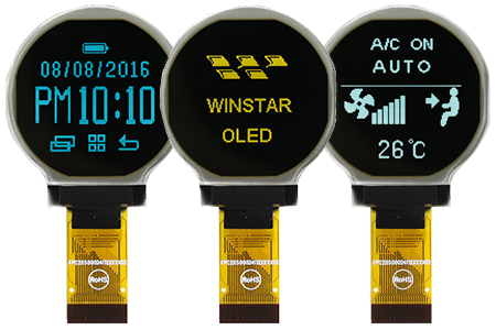 Circular OLED Display / WINSTAR Display Co., Ltd.