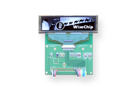 Wide Temperature Range OLED Displays /  WiseChip Semiconductor Inc.