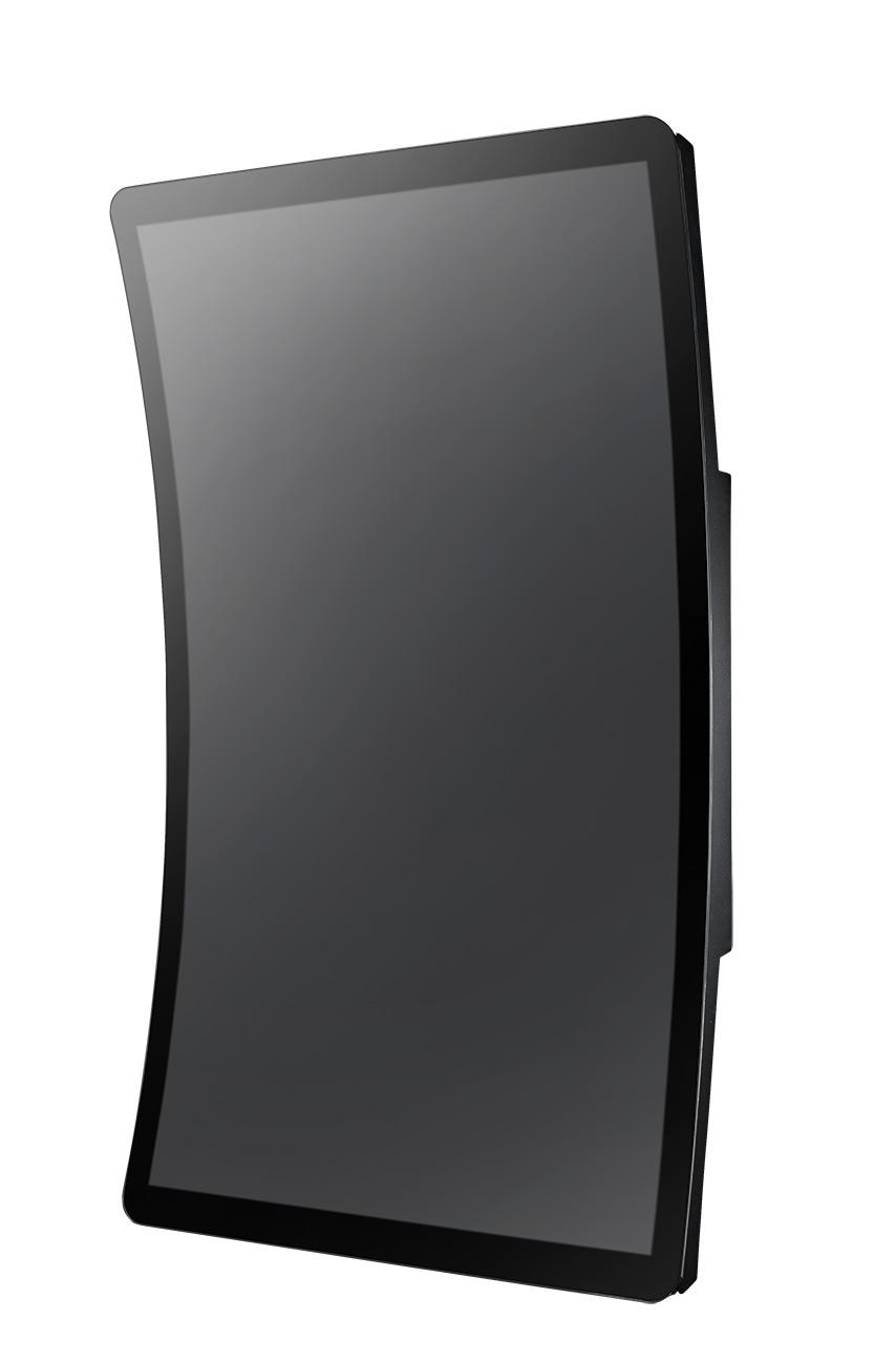 43吋工業級曲面多點觸控顯示器