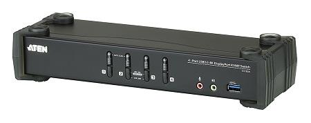 4埠USB 3.0 4K DisplayPort KVMP™ 多電腦切換器 / 宏正自動科技股份有限公司