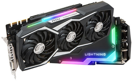 RGB Backlit gaming high-end graphics card / MICRO-STAR INTERNATIONAL CO.,LTD.