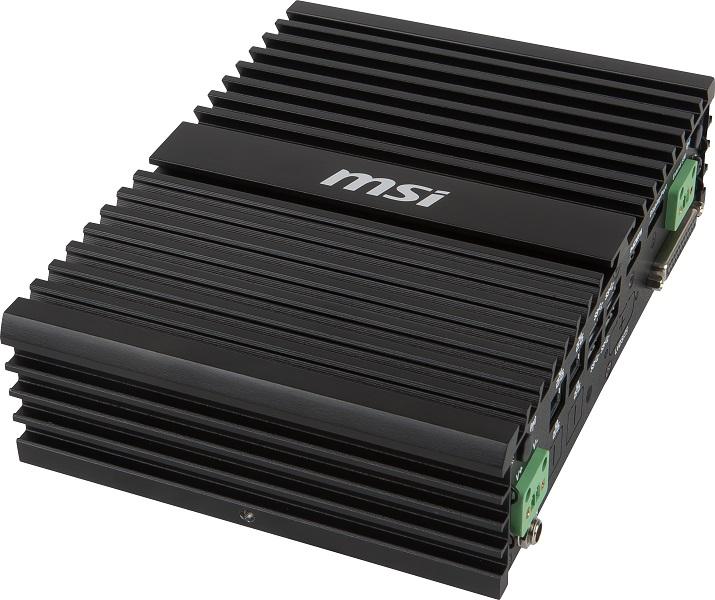 掌上型無風扇低功耗高效能嵌入式工業電腦 / 微星科技股份有限公司