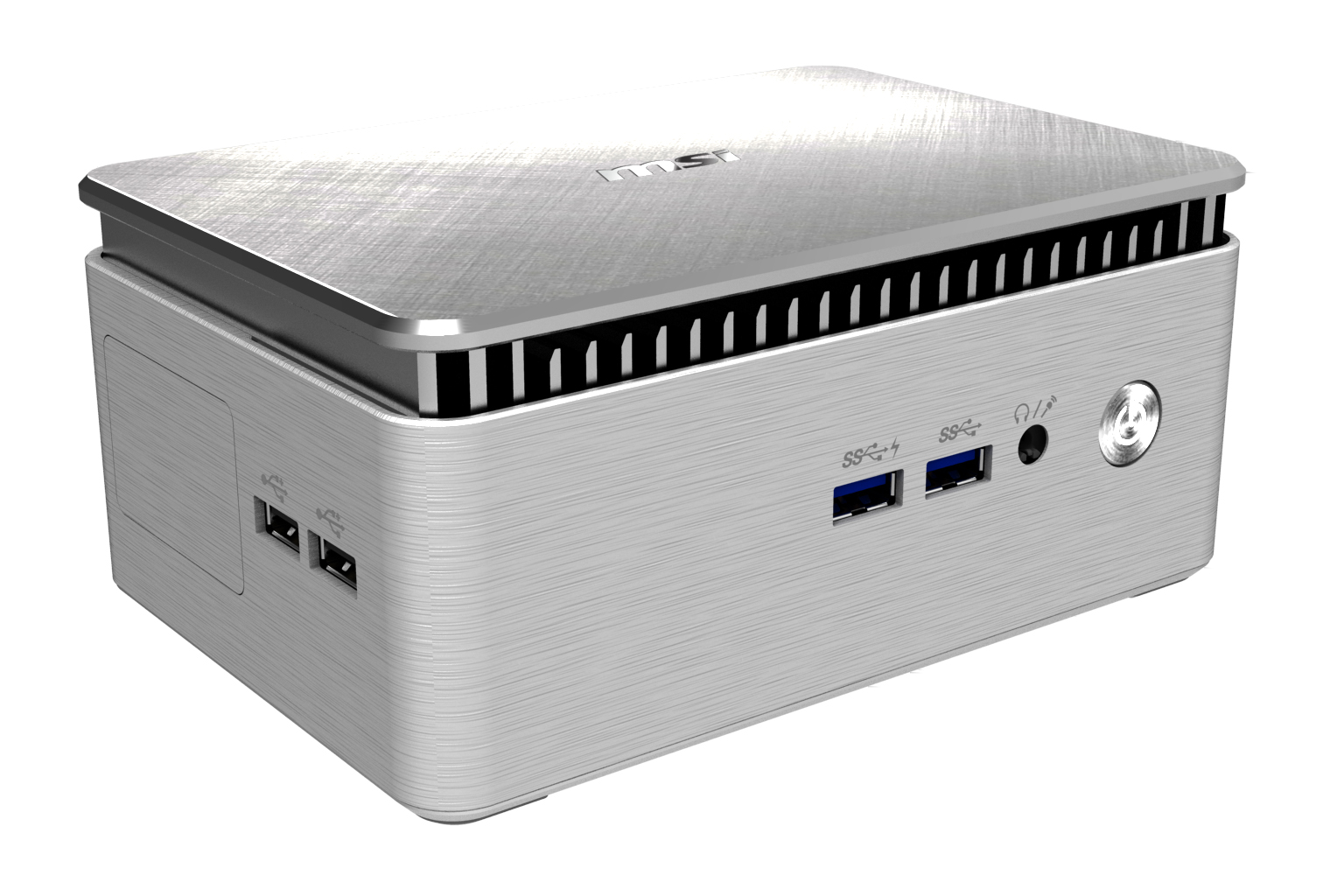 Solid & Stylish Fanless Mini PC / MICRO-STAR INTERNATIONAL CO.,LTD.