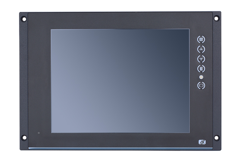 10.4 吋 EN50155 軌道交通專用無風扇觸控螢幕 / 艾訊股份有限公司