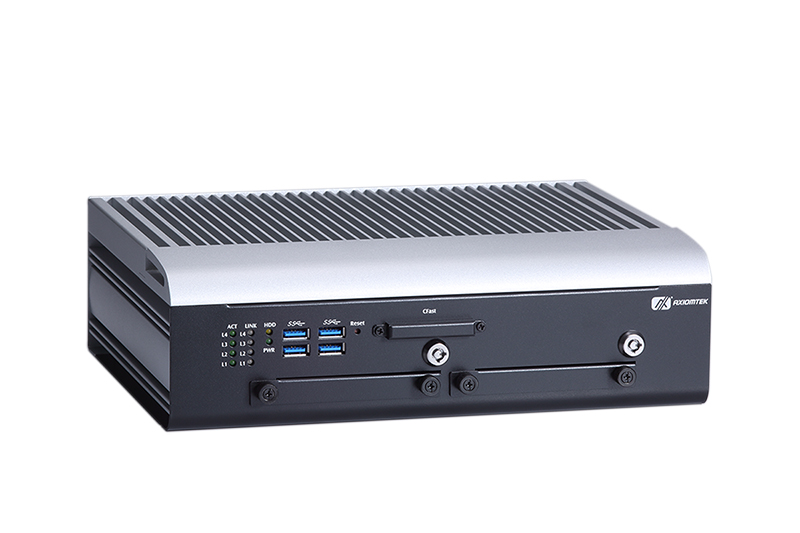 Fanless Embedded System for Vehicle, Railway and Marine PC