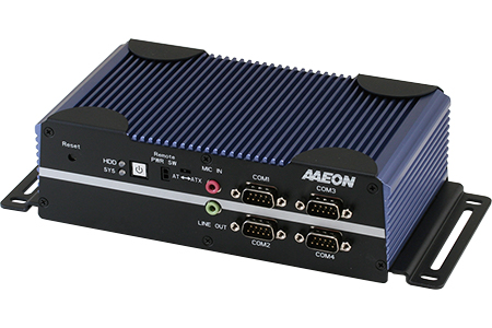 AAEON Technology Inc.-Ruggedize & Low Power Embedded Fanless Industrial Controller