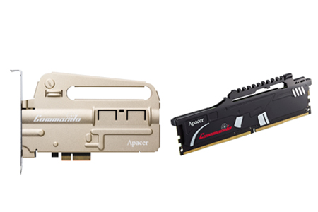 COMMANDO Series DDR4 Gaming Memory Module & PCIe SSD / Apacer Technology Inc.