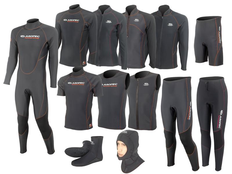 功能性水上運動防寒服飾