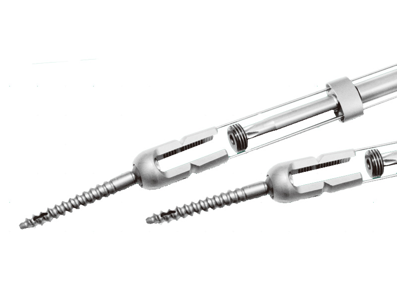 Minimally invasive single-site spinal fixation system