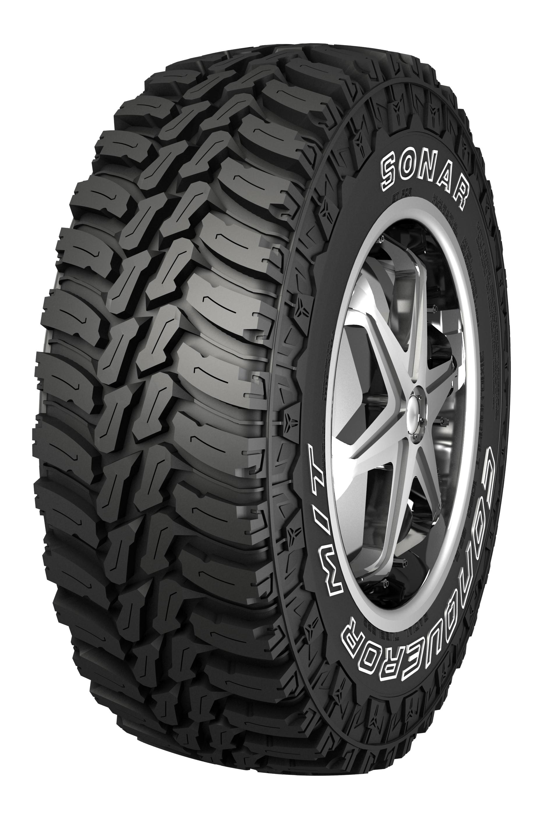 All-terrain SUV tire