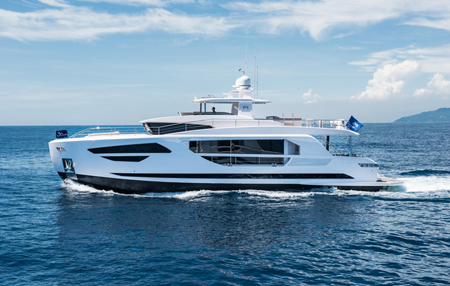 85feet luxury motor yacht / Horizon Yacht Co., Ltd.