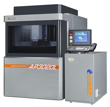 Ultra-precision 3 axis linear motor die sinker EDM / CHING HUNG MACHINERY & ELECTRIC INDUSTRIAL CO., LTD.