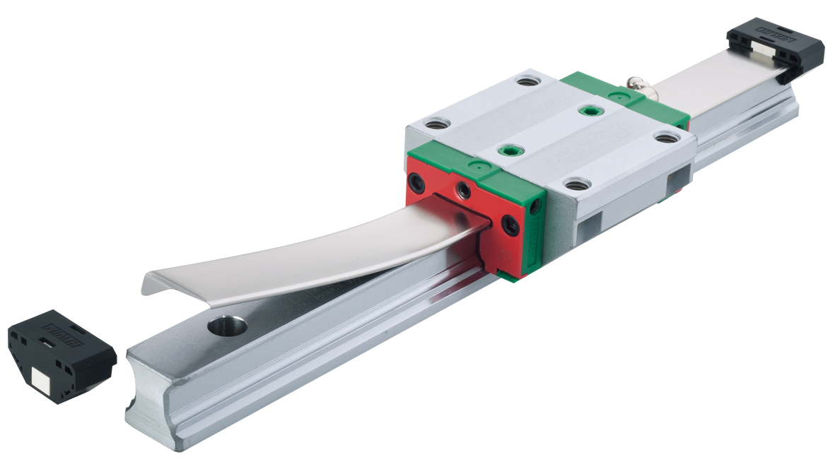Superior Rolling Moment with Cover Strip Linear Guideway