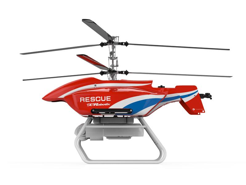 Thermal Imaging & Vital Signs Detecting Radar Rescue UAV